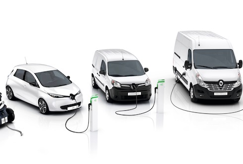 RENAULT Z.E. RANGE ELECTRIC VEHICLES