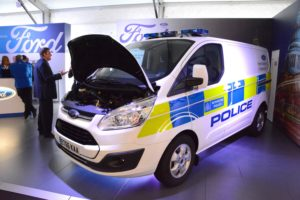 LCV2017 016 Ford Transit Plug-in Hybrid Van